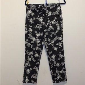 Ann Taylor Loft floral pants